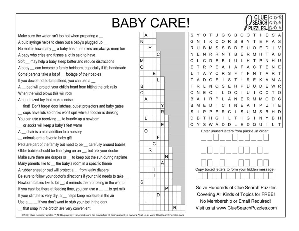 baby care trivia quiz