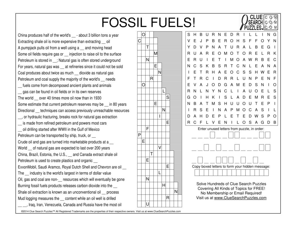 fossil fuels trivia quiz
