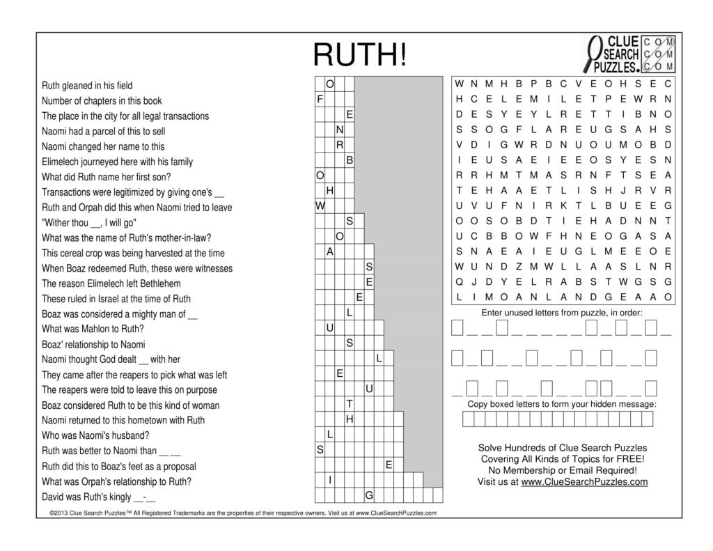 ruth trivia quiz