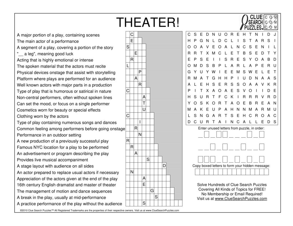 theater trivia quiz